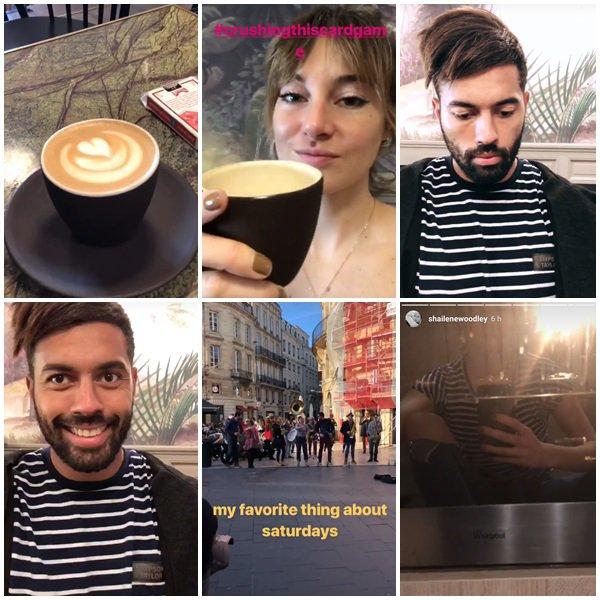 3 Mars 2018 - Shailene Woodley et des fans à Bordeaux, France