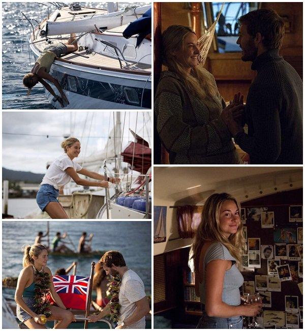 """13 Avril 2018 - Shailene Woodley était sur le tournage de la saison 2 de """"Big Little Lies"""" au Lovers Point à Monterey, Californie"""