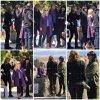 """18 Avril 2018 - Shailene Woodley, Reese Witherspoon, Nicole Kidman et Laura Dern étaient sur le tournage de la saison 2 de """"Big Little Lies"""" à Sausalito, Californie"""