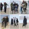 """21 Avril 2018 - Shailene Woodley était sur le tournage de la saison 2 de """"Big Little Lies"""""""