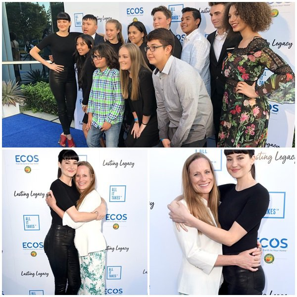 "28 Avril 2018 - Shailene et Lori Woodley était au ""All It Takes"" Lasting Legacy event to celebrate youth leadership"