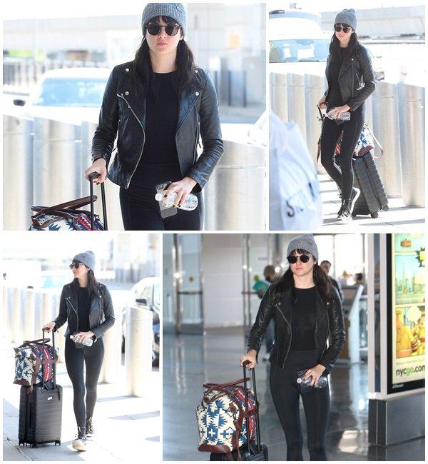 8 Mai 2018 - Shailene Woodley était à l'aéroport JFK à New York City
