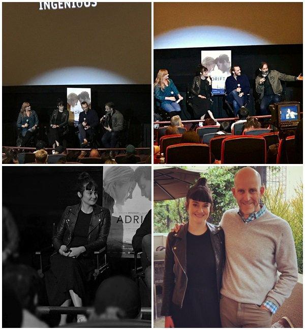 "21 Mai 2018 - Shailene était au Q&A du film ""Adrift"""