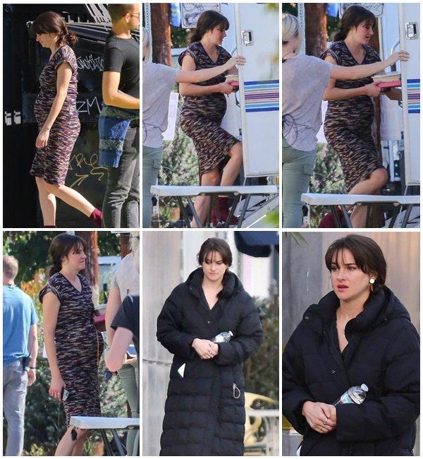 16 Novembre 2018 - Shailene était sur le tournage du film No No No, Yes
