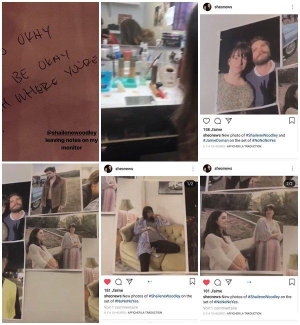 19 Novembre 2018 - Shailene était sur le tournage du film No No No, Yes