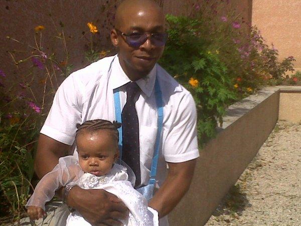 LEEYAH SIMPLICIA A SON BAPTEME
