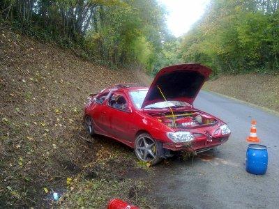 27 octobre 2009 accident de voiture