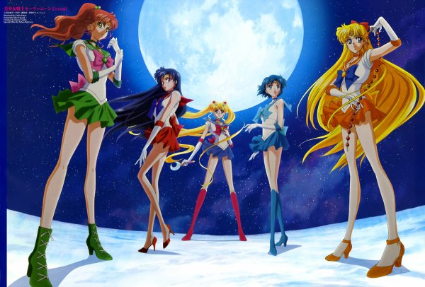 Sailor moon, la plus connue des magicals girls
