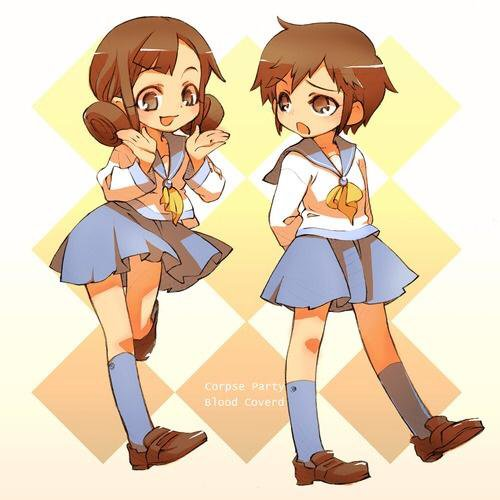 Naomi x Seiko (Corpse party)