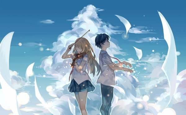 - Your lie in April -