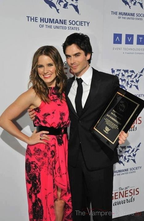 Sophia Bush & Ian Somerhalder