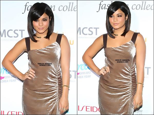 . 09/09/11: Vanessa a été vue aux Concert Korea Spring 2012 qui se déroulais à New York.   .