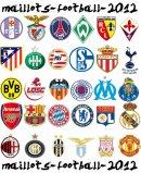 Photo de maillots-football-2012