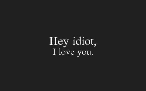 Si tu savais.. ♥