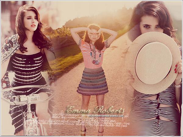 L'interview de RobertsEmmy, ta meilleure source sur la talentueuse Emma Roberts ! :)