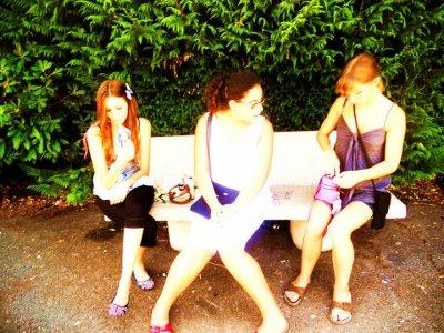 Sortie au Parc du coin (Longchamps) avec tout le monde :)