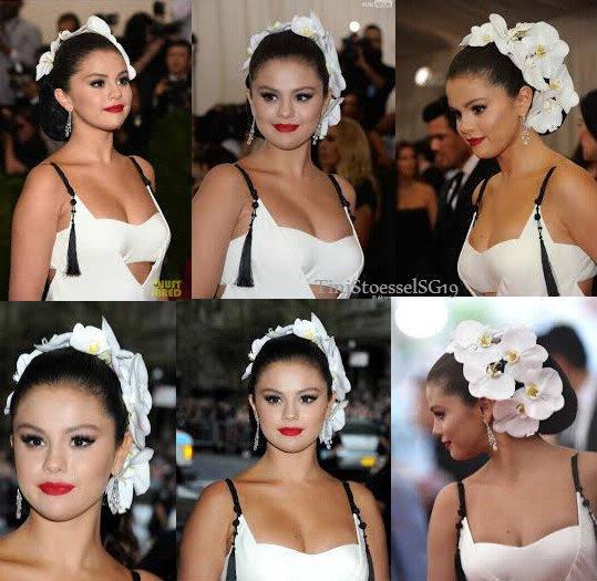 Selena au met gala