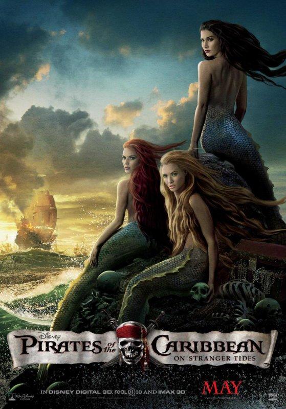 Pirates des Caraïbes 4 : les sirènes