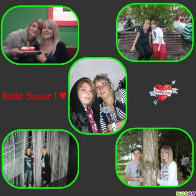 Avec la belle soeur ! ♥