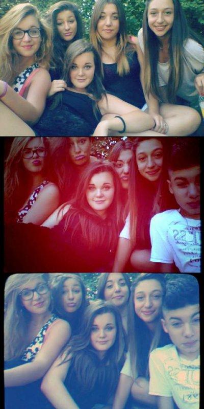 «Les meilleurs amis sont les personnes qui te font rire un peu plus fort, sourire un peu plus longtemps et vivre un peu plus heureux»
