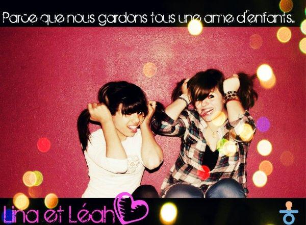 Lina et Léah♥