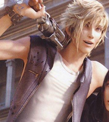 Les personnages de Final Fantasy XV