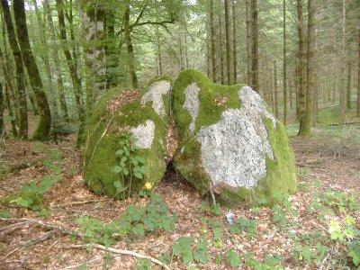 Deux rochers calins