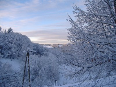 Saint-Yrieix sous la neige