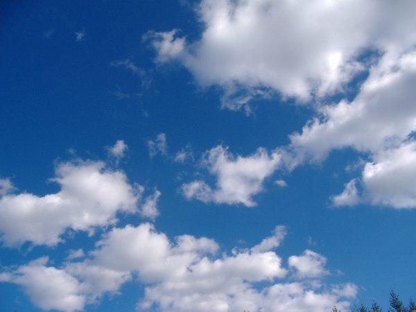 Un beau coin de ciel bleu