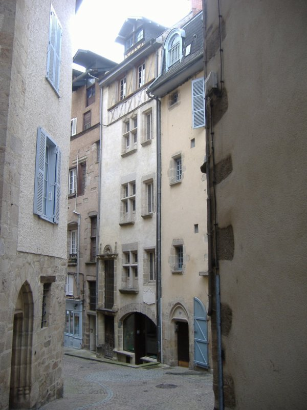 Petites rues du Trech (Tulle)