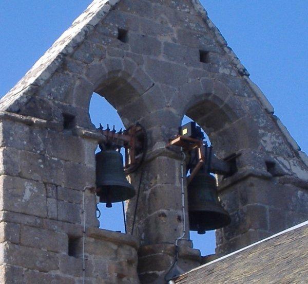 Les cloches de Saint Yrieix le Déjalat