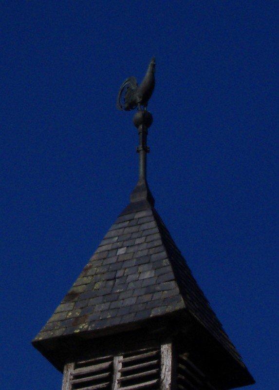 La girouette de l'église