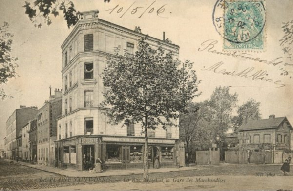 Souvenirs d'enfance à La Plaine Saint-Denis