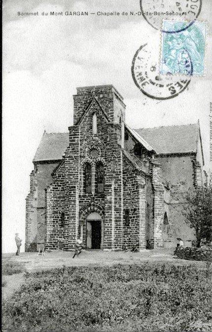 La Chapelle du Mont-Gargan, avant