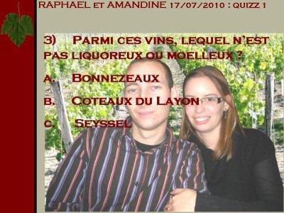 Mariage Raphaël et Amandine