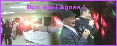 Bon Anni Agnès !