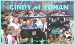 Mariage Cindy et Yohan 02/07/2011