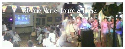 40 ans Marie-Laure et Lionel