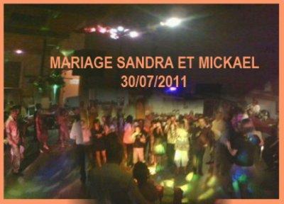 Mariage Sandra & Mickael