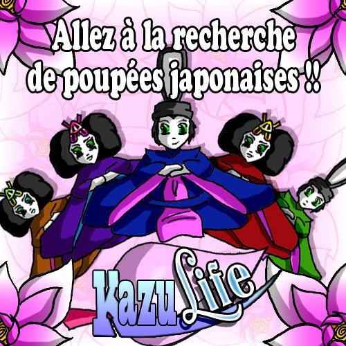 Hina Matsuri sur KazuCity !!
