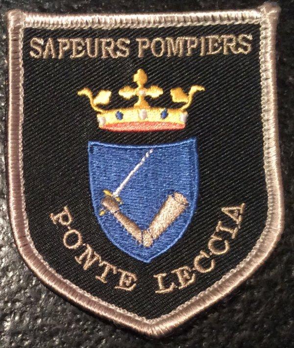 SAPEURS POMPIERS PONTE LECCIA CORSE