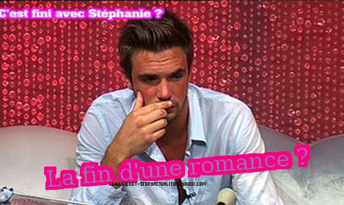 Stéphanie a rompu avec Maxime en lui donnant une lettre . Pauvre Maxime , lui qui l'aimait tant !