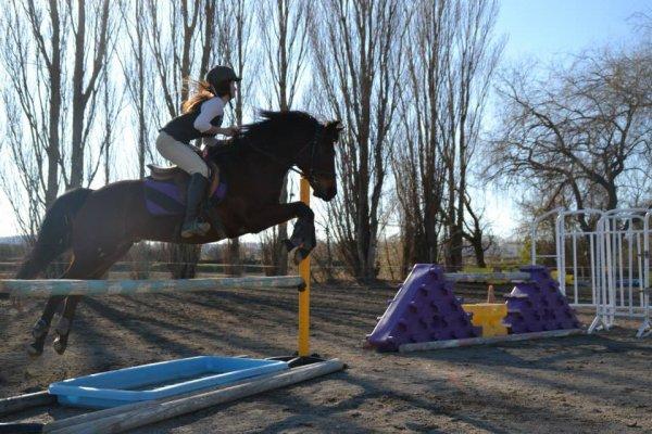 Entrainement de saut