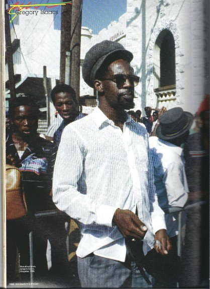 "GREGORY ISAACS - ""Drifting away"" (1984)"