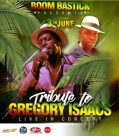 KEVIN ISAACS & TALLAWAH - LIVE TRIBUTE TO GREGORY ISAACS