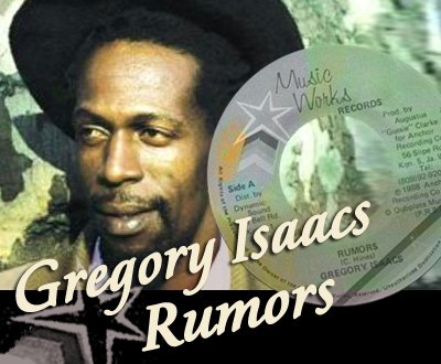 "GREGORY ISAACS - ""RED ROSE FOR GREGORY"" (1988)"