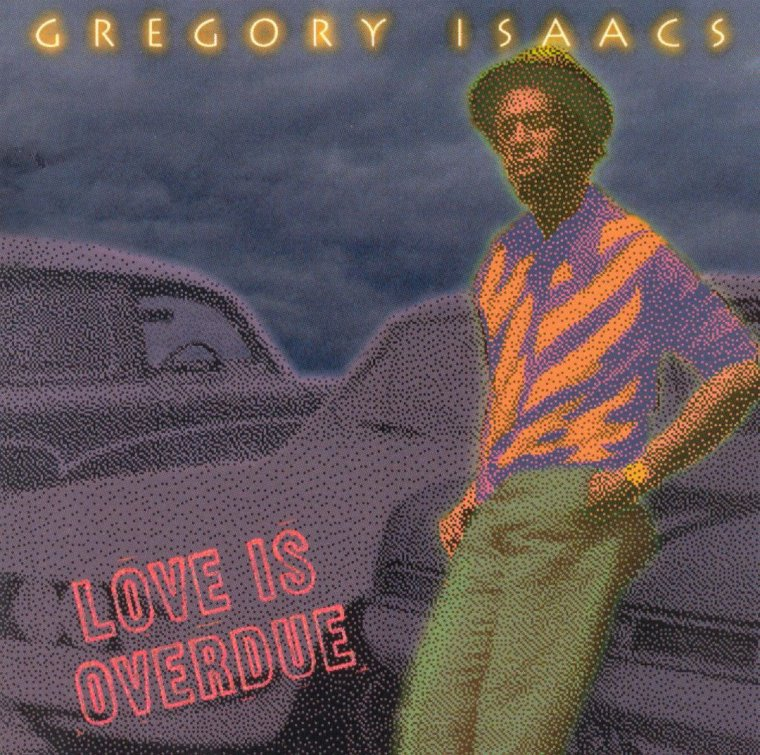 "GREGORY ISAACS - ""LOVE IS OVERDUE"""