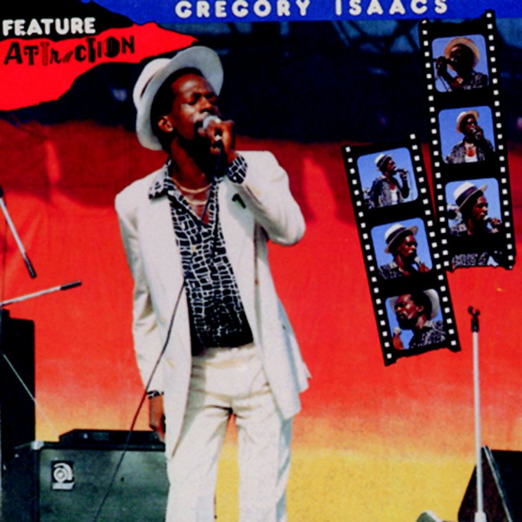 "GREGORY ISAACS - ""FEATURE ATTRACTION"" / ""GREGORY ISAACS AT THE MIXING LAB"" (1991)"