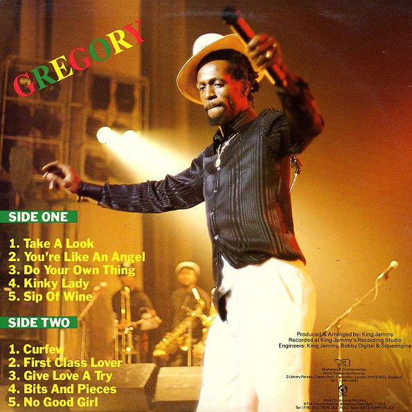 "GREGORY ISAACS - ""COME ALONG"" (1988)"