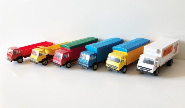 La série Minialuxe des Berliet (mise à jour)